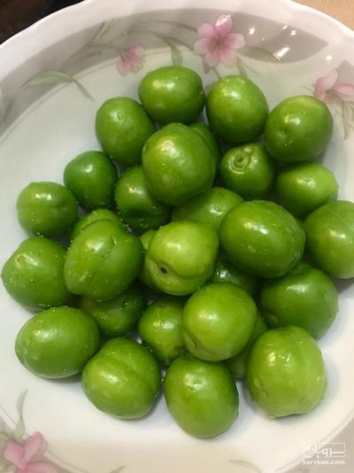 قیمت خرید عمده  گوجه سبز