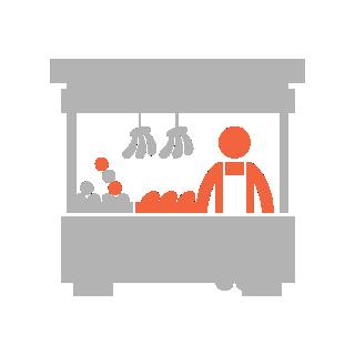 سروبان - فروشنده محصولات کشاورزی